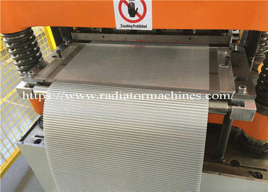 3003 Foil Radiator Fin Machine For 45mm Height With Stable Performance